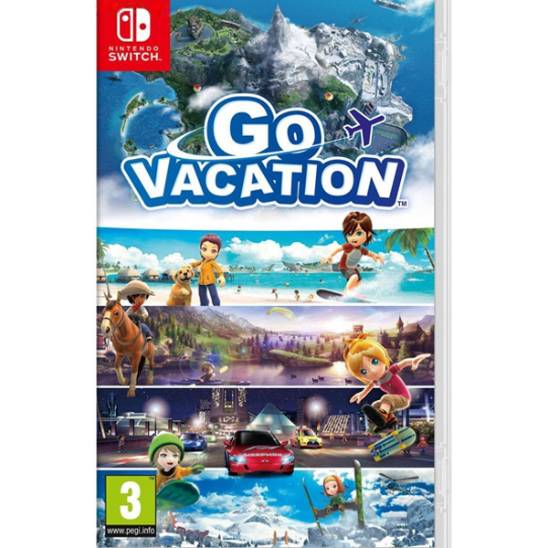 Игра для консоли Nintendo Switch Go Vacation