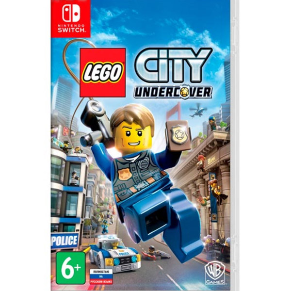 Игра для консоли Nintendo Switch LEGO CITY Undercover