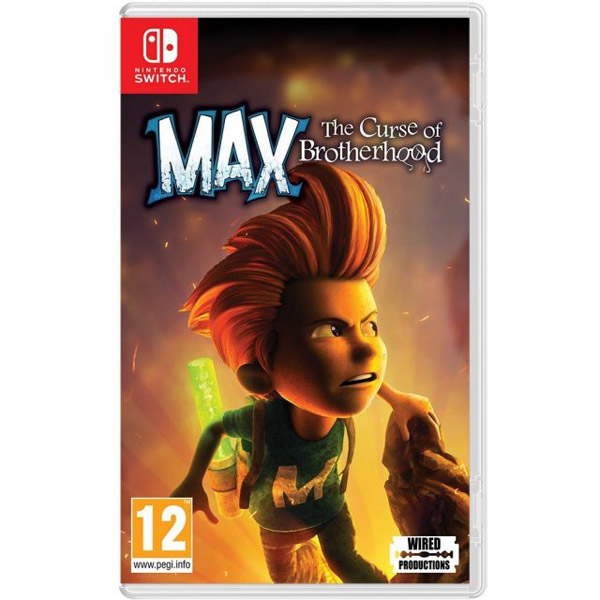 Игра для консоли Nintendo Max: The Curse of Brotherhood NS