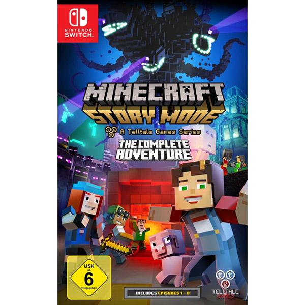 Игра для консоли Nintendo Switch Minecraft Story Mode The Complete Adventure