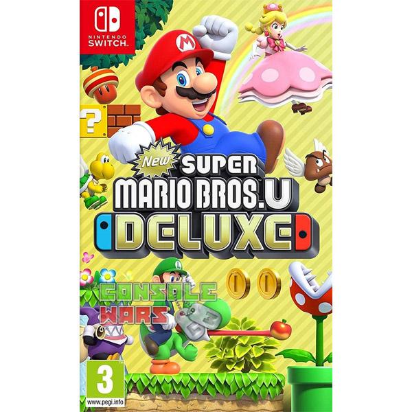 Игра для консоли Nintendo Switch New Super Mario Bros Deluxe