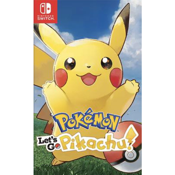 Игра для консоли Nintendo Switch Pokemon Let's Go, Pikachu!