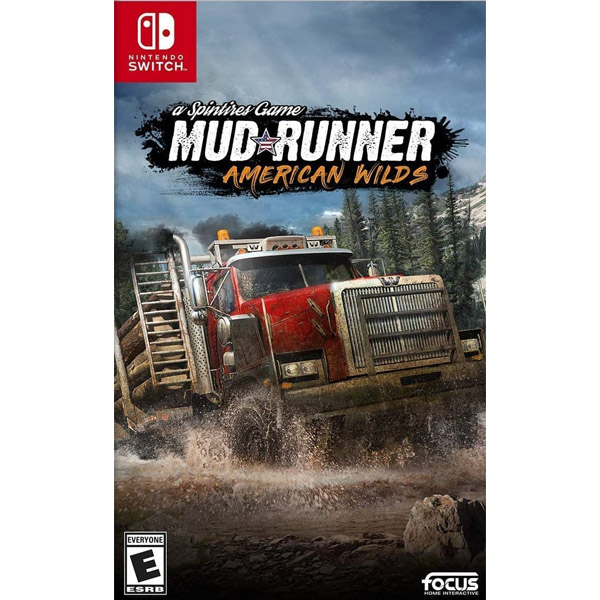 Игра для консоли Nintendo Switch Spintires MudRunner American Wilds