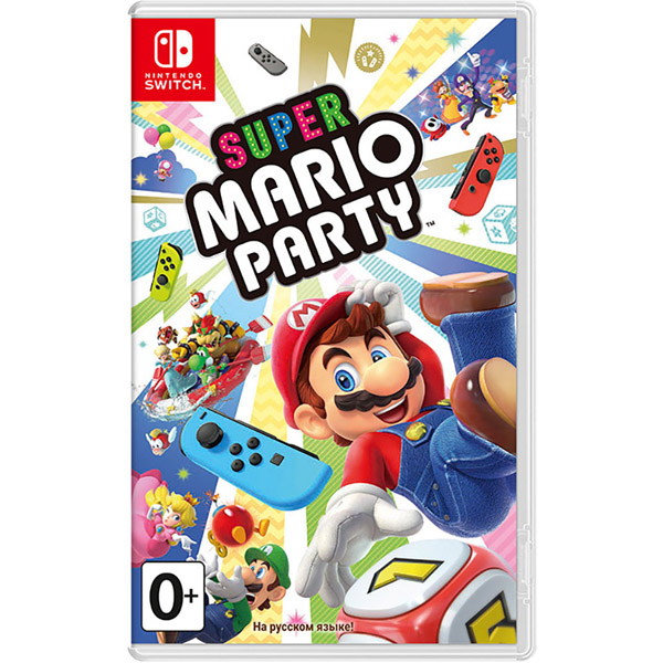 Игра для консоли Nintendo Switch Super Mario Party