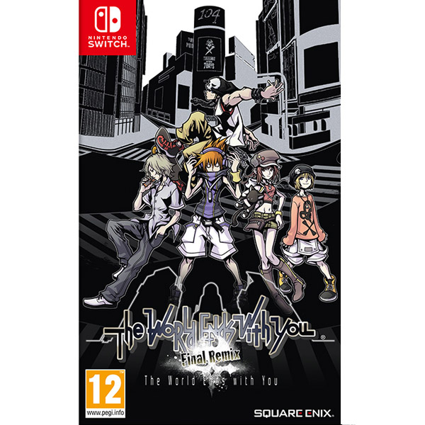 Игра для консоли Nintendo Switch The World Ends With You Final Remix