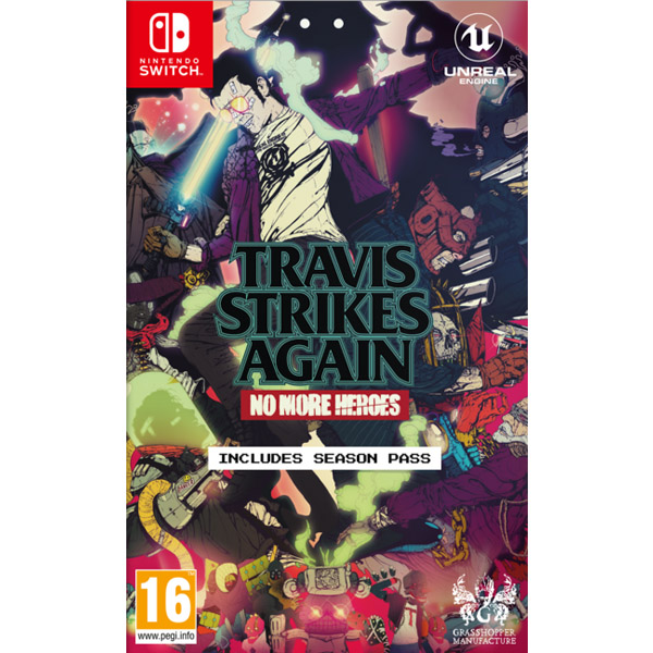 Игра для консоли Nintendo Switch Travis Strikes Again: No More Heroes
