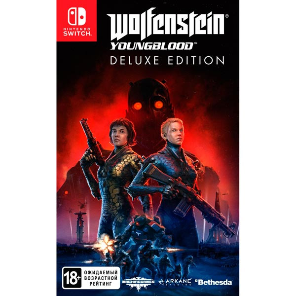 Игра для консоли Nintendo Switch Wolfenstein Youngblood Deluxe Edition