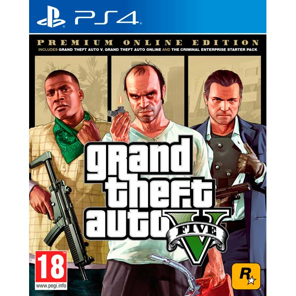 Игра для консоли PS4 Grand Theft Auto V Premium Edition