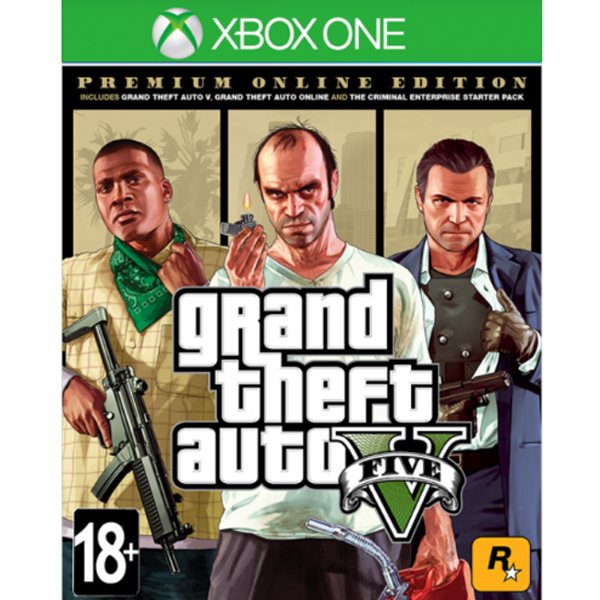 Игра для консоли X-Box One Grand Theft Auto V Premium Edition