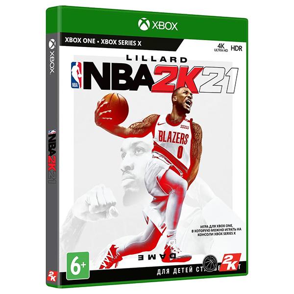 Игра для консоли Xbox One NBA 2K21