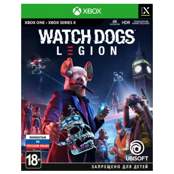 Игра для консоли Xbox One Watch Dogs Legion