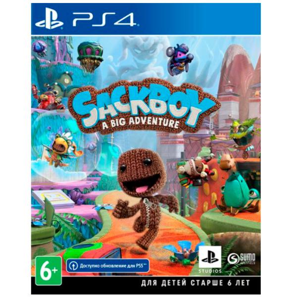 Игра для консоли PlayStation 4 Sackboy A Big Adventure