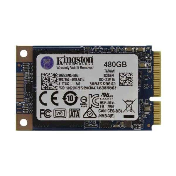 Внутренний диск SSD Kingston SUV500MS/480G