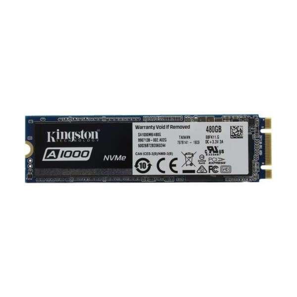 Внутренний диск SSD Kingston SA1000M8/480G
