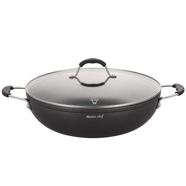 Сковорода вок ARG Master chef с крышкой 32 см (525-1)