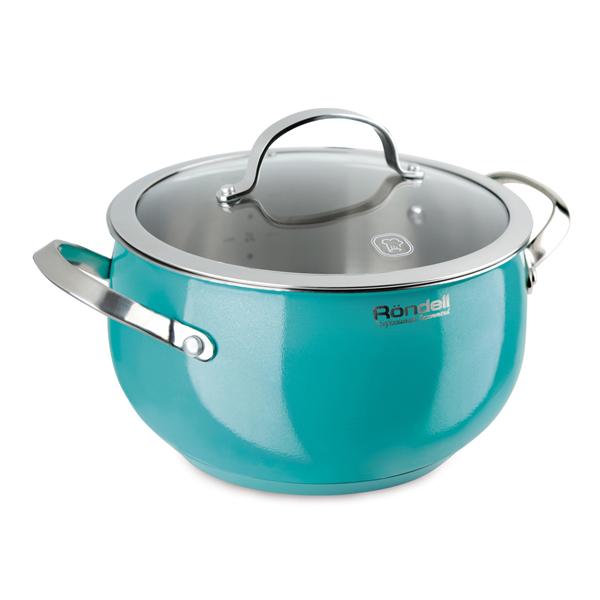 Кастрюля Rondell Turquoise RDS-718 20см 3,8л