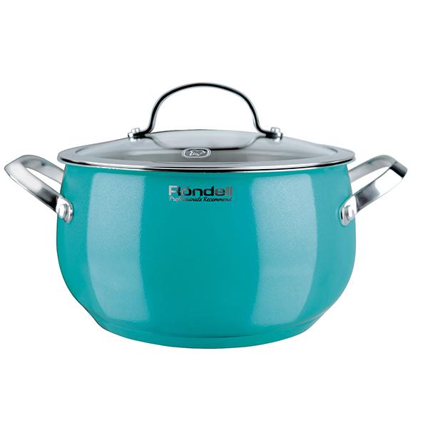 Кастрюля Rondell Turquoise 18см 2,8 л RDS-717