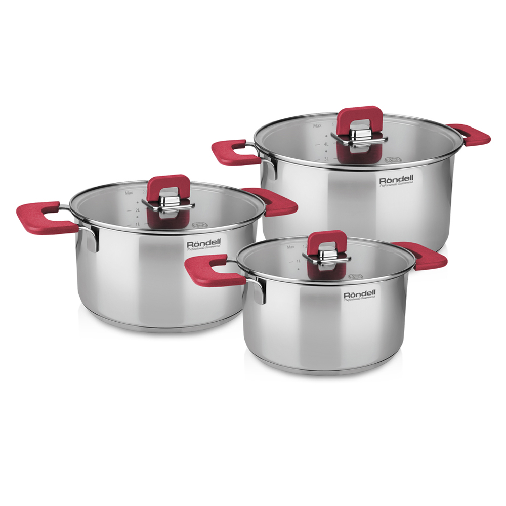 Набор посуды Rondell Savvy RDS-940 (6 предметов)
