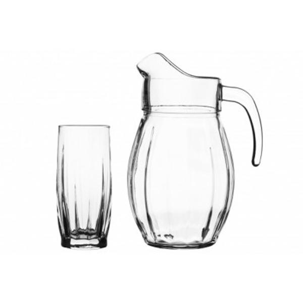 Графин со стаканами Pasabahce Dance 97874/7
