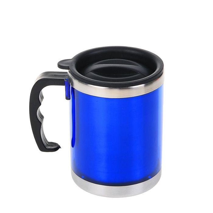"""Термокружка """"Таллер"""", 450 мл, синяя"""