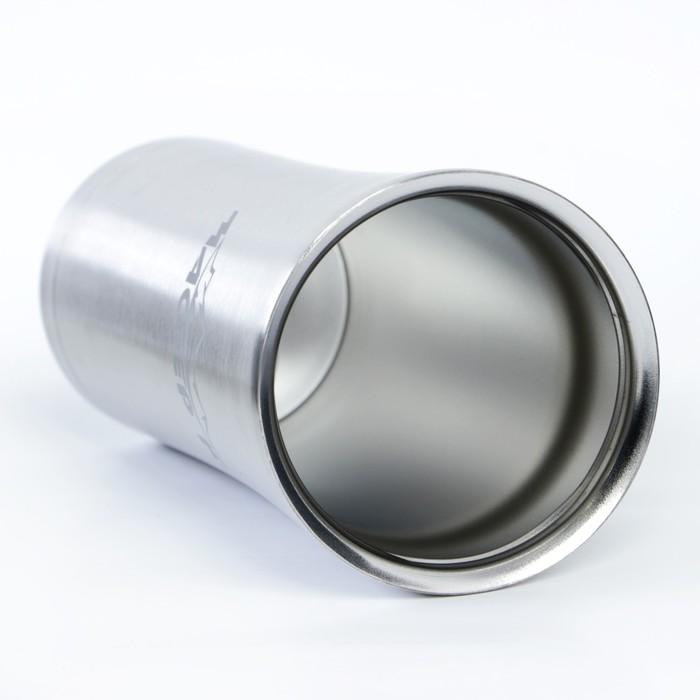 "Термокружка ""Мастер К"" 500 мл, 304 сталь, 9х20 см"