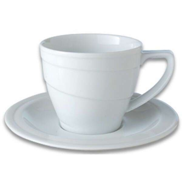 Чашка для завтрака и блюдце BergHOFF 0,385L 1690209