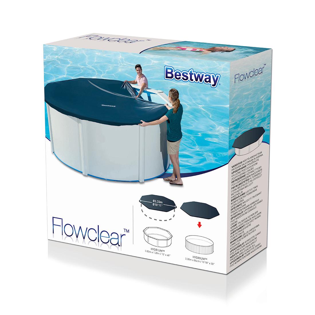 Тент для стального бассейна Bestway 58291