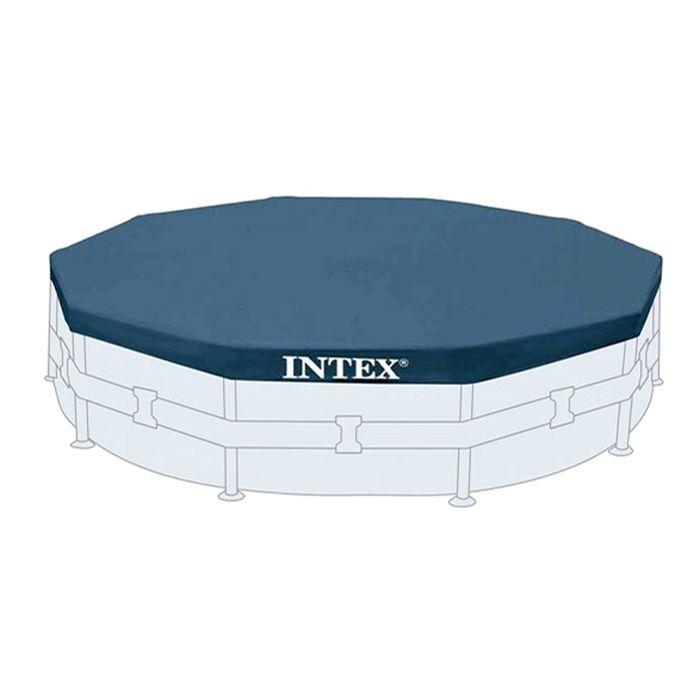 Тент на каркасный бассейн, d= 305 см 28030 INTEX