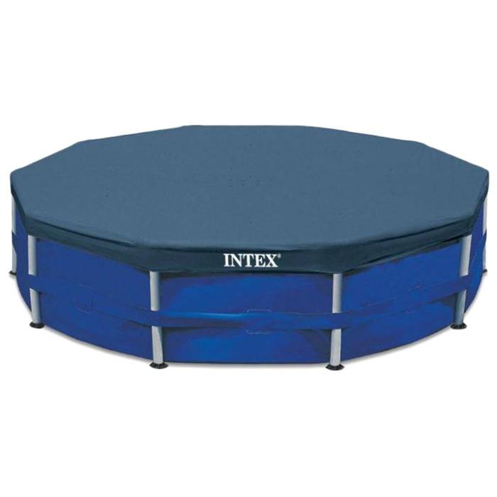 Тент на каркасный бассейн, d= 366 см 28031 INTEX