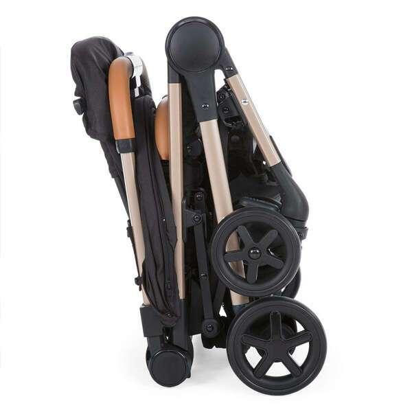 Прогулочная коляска Chicco Miinimo2 Pure Black