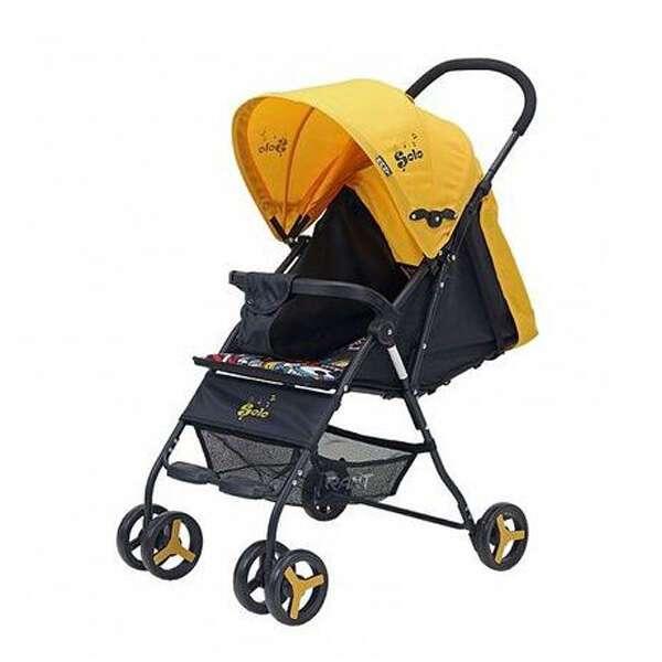 Коляска детская Rant Solo Yellow