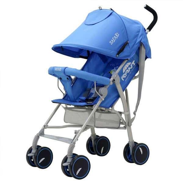 Коляска детская Rant Safari blue/голубой