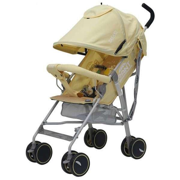 Коляска детская Rant Safari RA801 (comfort) yellow/желтый