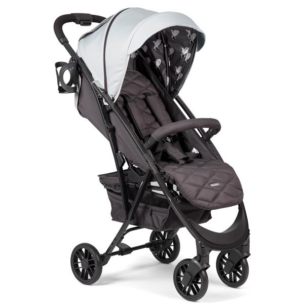 Коляска прогулочная Happy Baby Eleganza V2 Light Grey