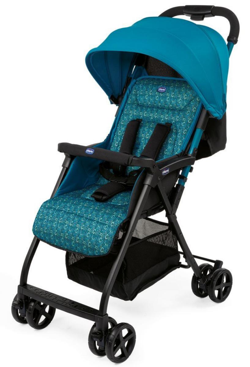 Прогулочная коляска Chicco Ohlala 2 Digital Голубой