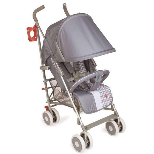Коляска прогулочная Happy Baby Cindy (Light grey)