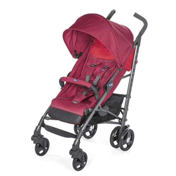 Прогулочная коляска Chicco Lite Way 3 Top Red Berry