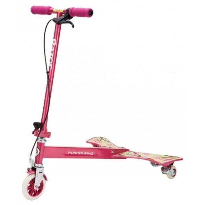 Самокат-тридер Powerwing Sweet Pea, цвет розовый
