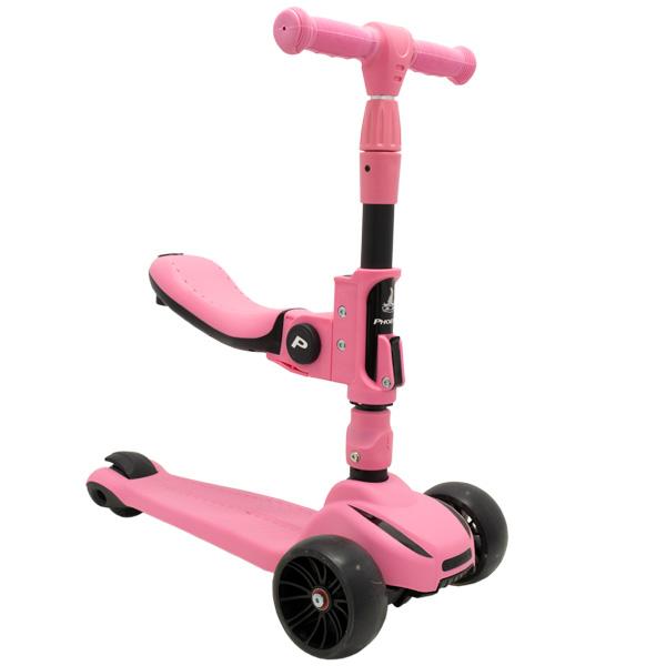 Самокат детский Phoenix GGA 128 Pink