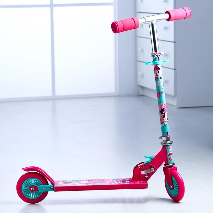 """Самокат детский """"Минни Маус"""", колеса PVC d=120мм"""