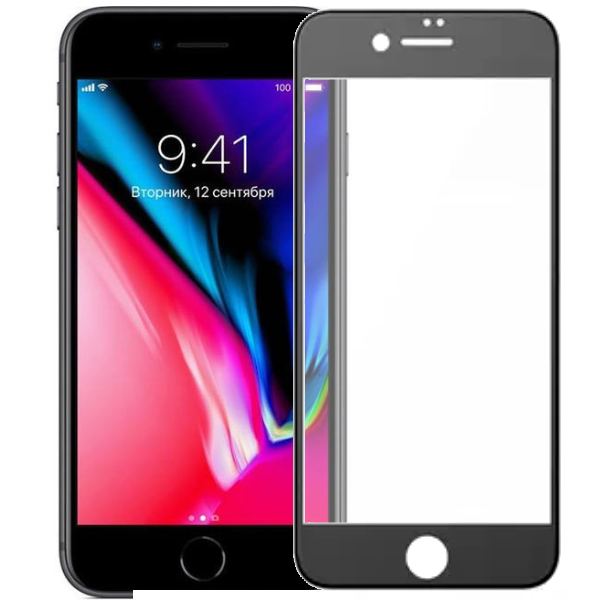 Защитное 3D стекло Remax Gener Anti Blue-ray Glass для iPhone 7/8 Black