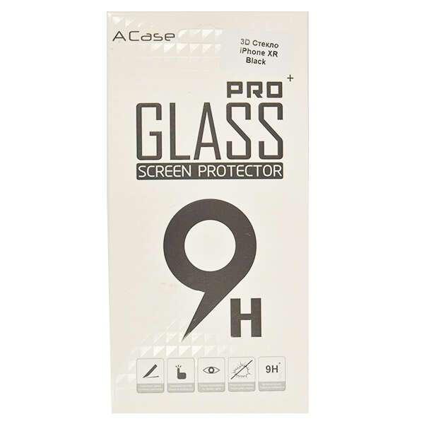 Защитное 3D стекло A-case для iPhone XR