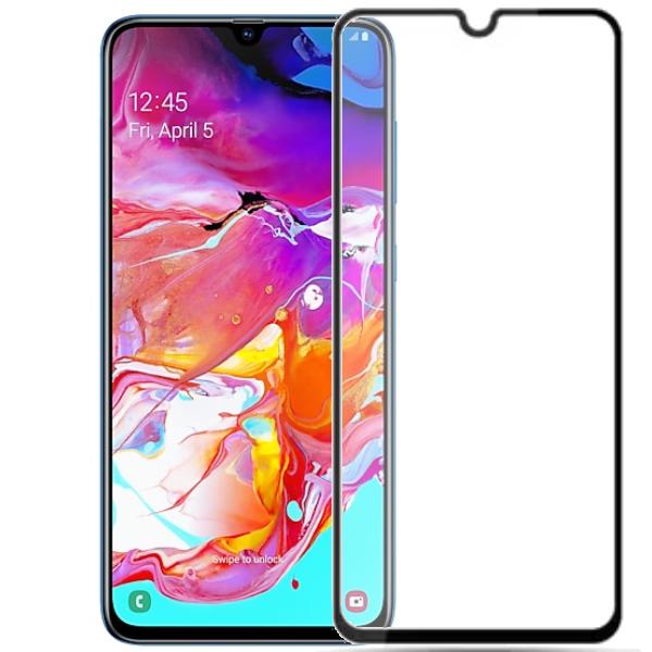 Защитное стекло A-case для Samsung Galaxy A70