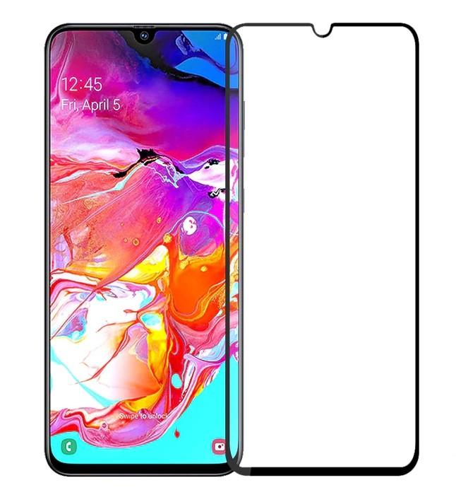 Защитное 3D стекло A-Case для Samsung Galaxy A70
