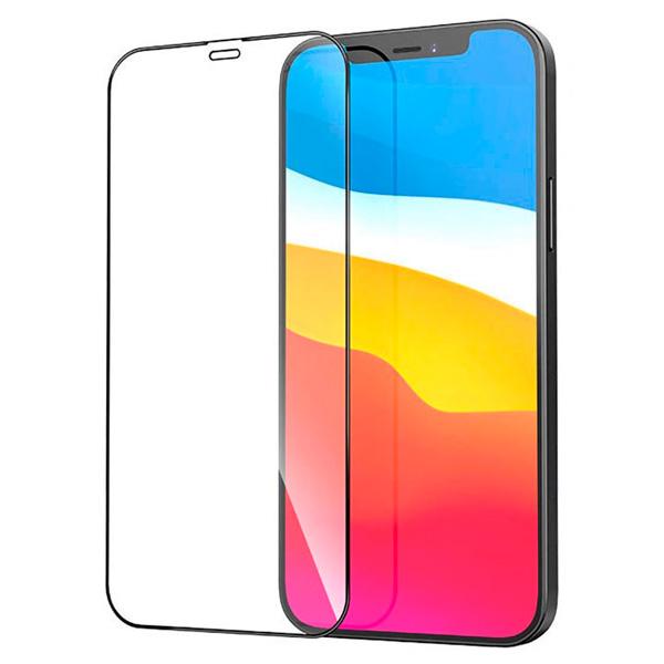 Защитное 3D стекло A-Case для iPhone 12 Pro Max
