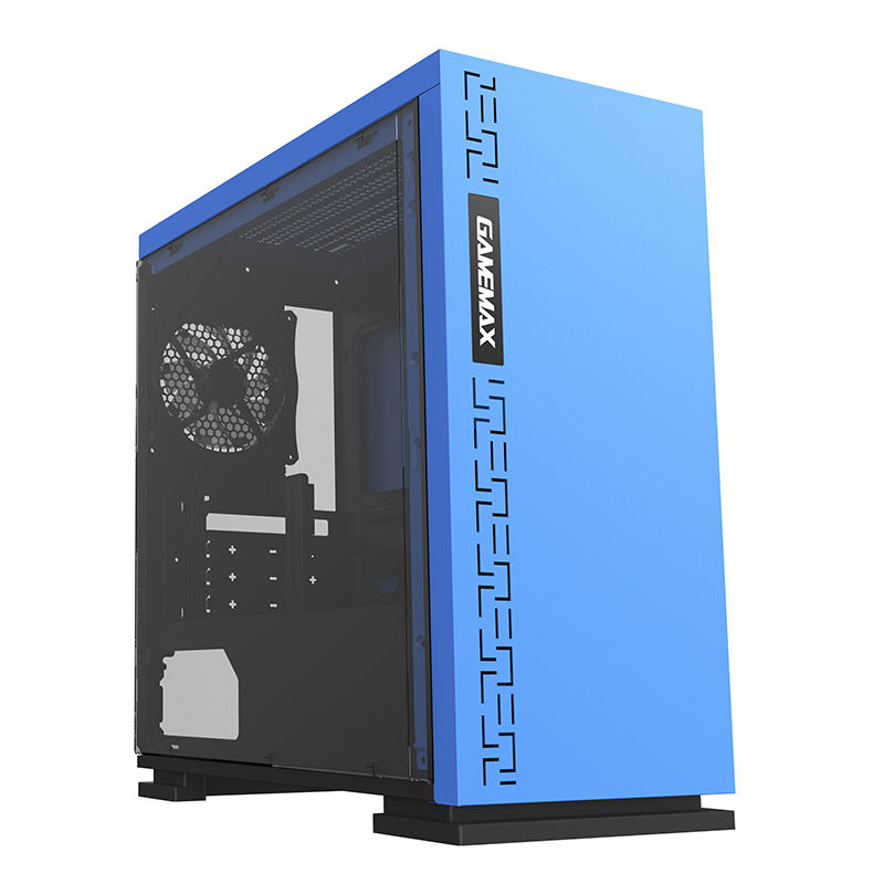 Корпус ПК без БП GameMax EXPEDITION H605-BLU