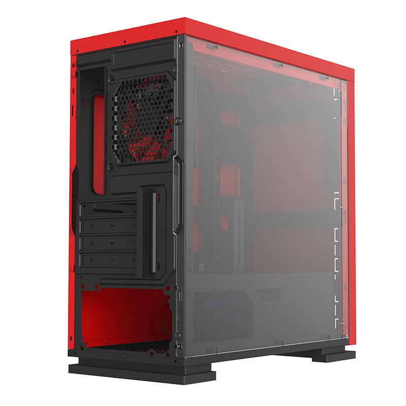 Корпус ПК без БП GameMax EXPEDITION H605-RD