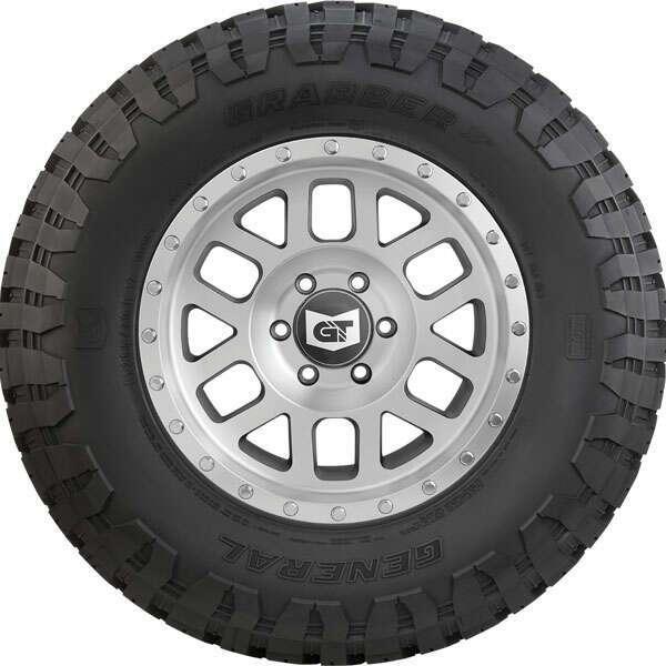 Летние шины General Tire Grabber X3 LRC FR  6PR 31X10.50 R15 LT 109Q