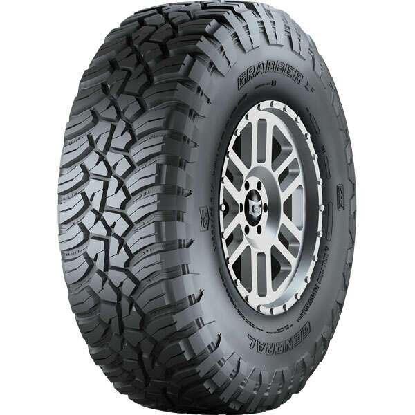Летние шины General Tire Grabber X3 LRC FR 6PR 33X12.50 R15 LT 108Q