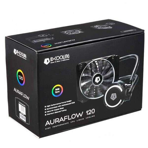 Жидкостная система охлаждения ID-Cooling AURAFLOW 120